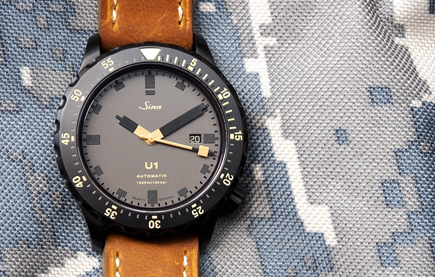 Sinn U1-D 'Dune' Limited Edition Watch Review Wrist Time Reviews