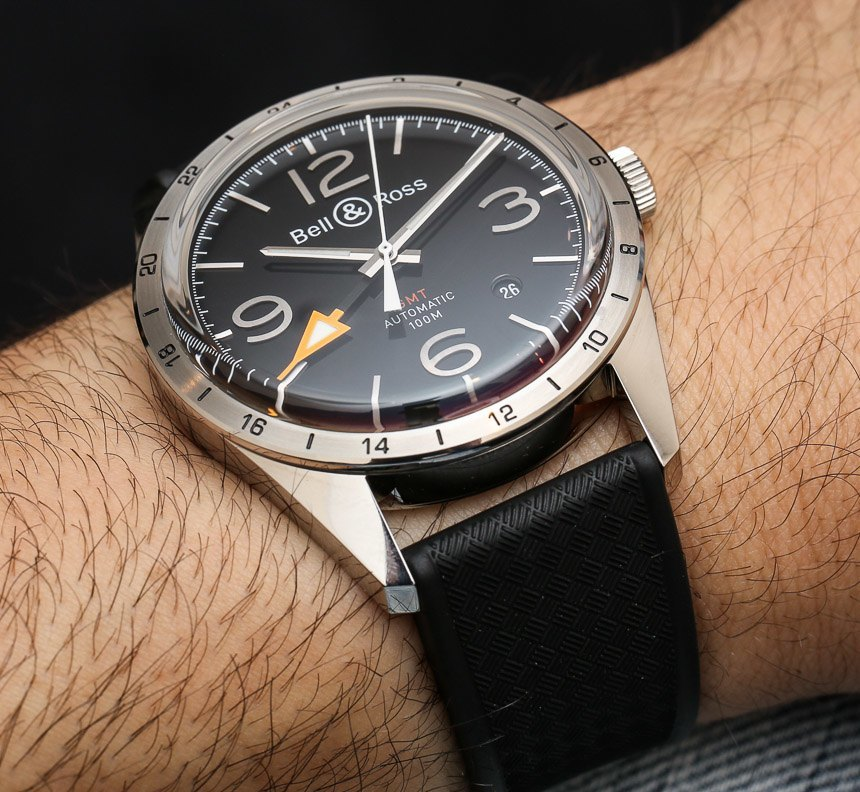 Bell & Ross BR 123 GMT 24H Watch Hands-On Hands-On