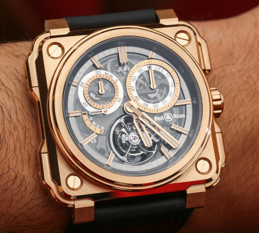Bell & Ross BR-X1 Chronograph Tourbillon Watches Hands-On Hands-On