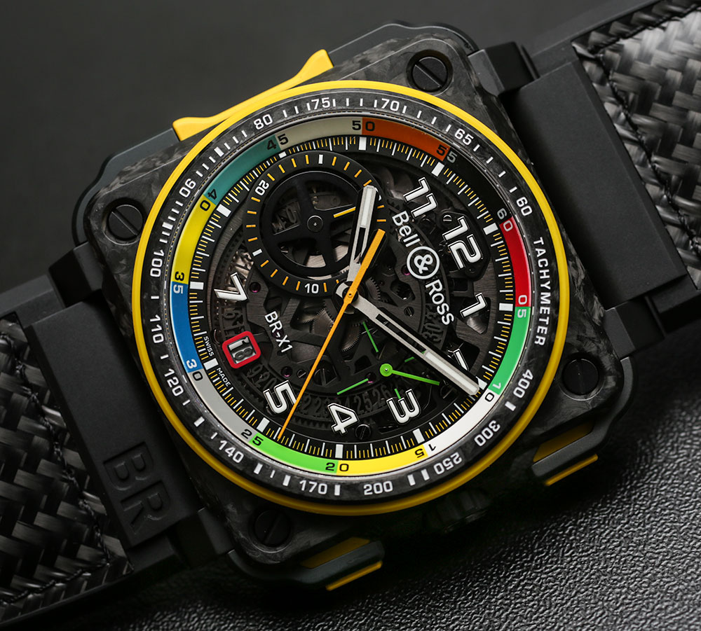 Bell & Ross BR RS17 Formula 1 Racing-Inspired Watches Hands-On Hands-On