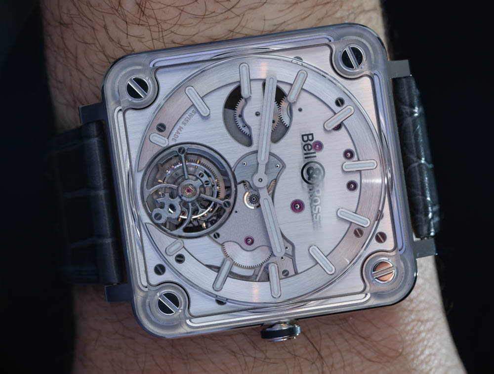Bell & Ross BR X2 Tourbillon Micro-Rotor Automatic Watch Hands-On Hands-On