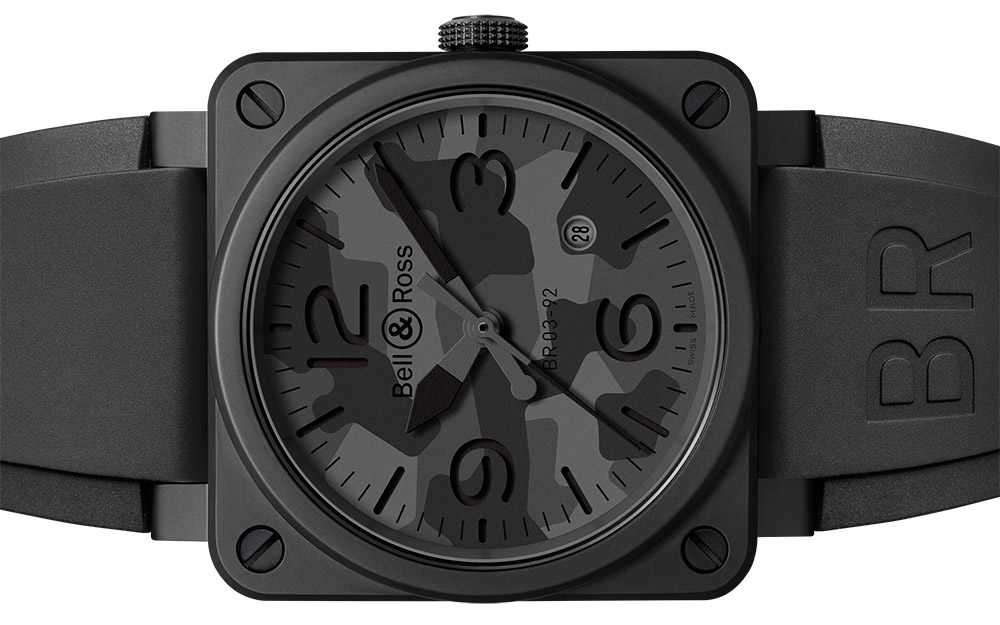 Bell & Ross BR 03-92 Black Camo Watch Watch Releases