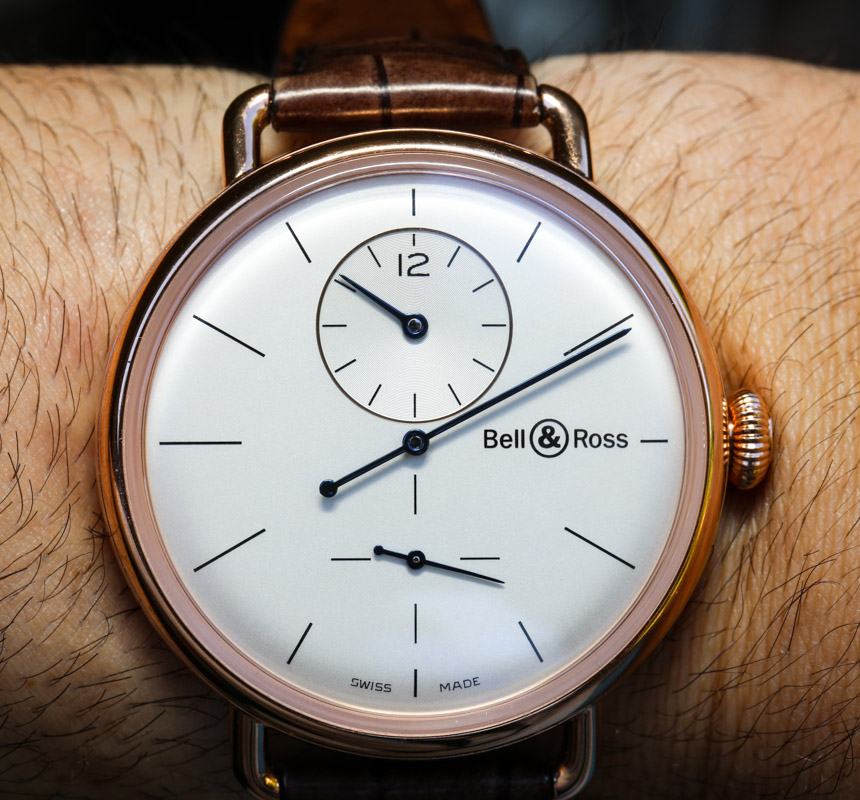 Bell & Ross WW1 Regulateur Pink Gold Watch Hands-On Hands-On