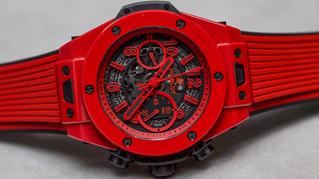 Hublot Big Bang UNICO Red Magic Ceramic Watch Hands-On Hands-On