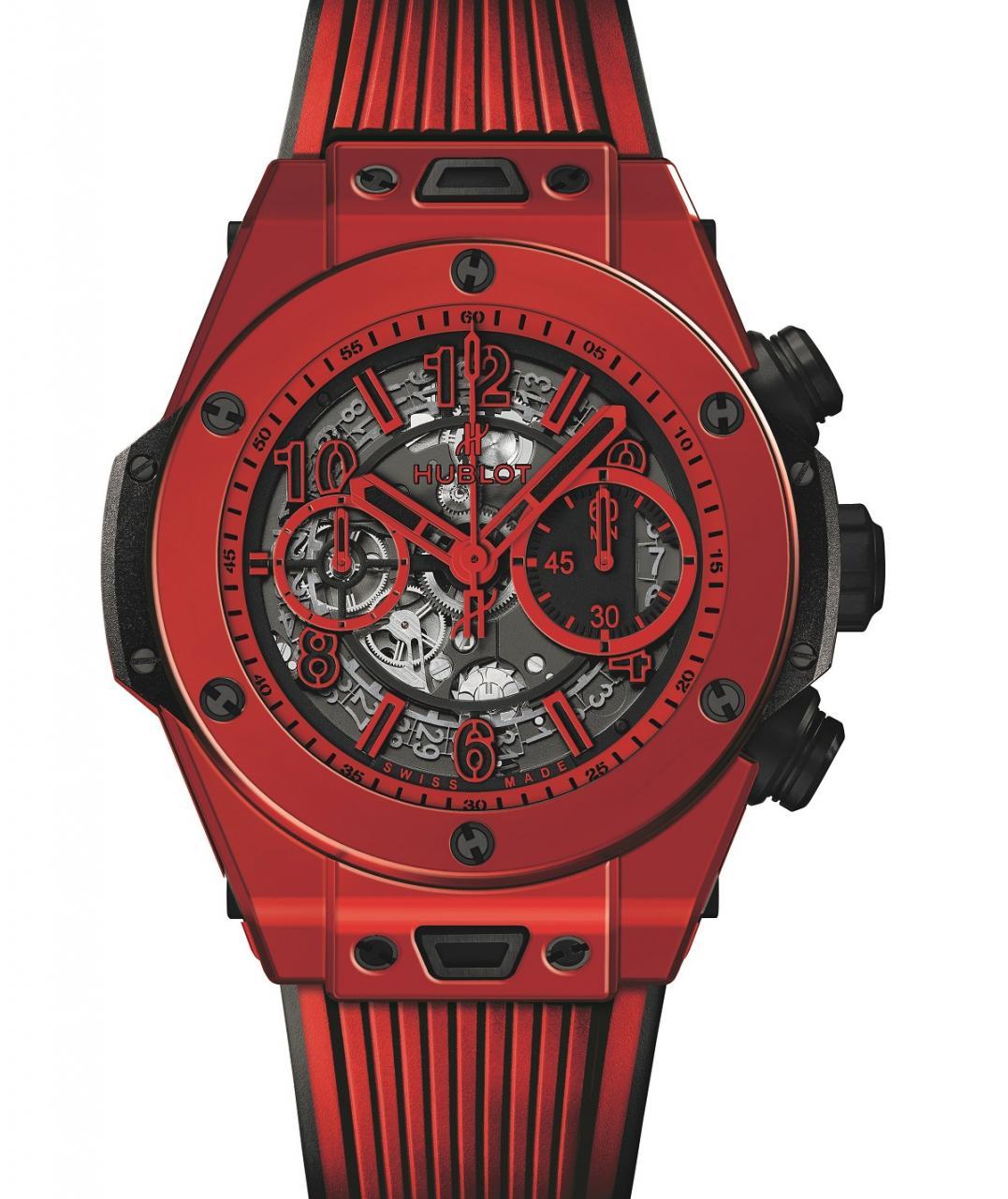 Hublot Big Bang UNICO Red Magic Ceramic Watch Watch Releases