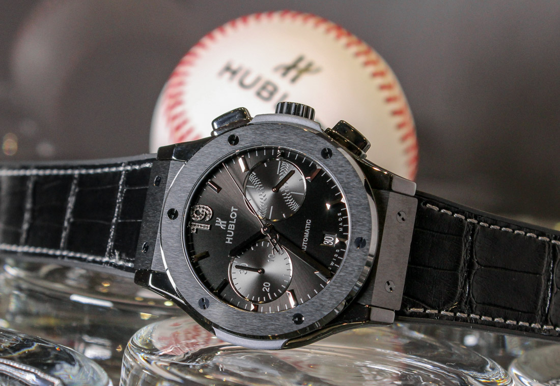 Hublot Unveils Classic Fusion Chronograph Special Edition 'Jose Bautista' In Canada Shows & Events