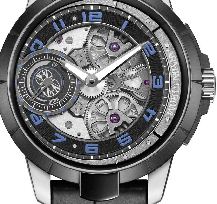 """Up Close With The Typical Armin Strom Edge Double Barrel """"Max Chilton"""" Replica Watch"""