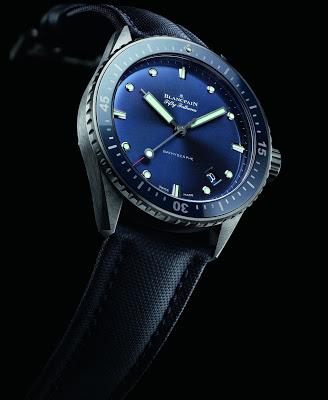 Gray Plasma Ceramic Blancpain Fifty Fathoms Bathyscaphe Watch Replica Ref.5000-0240-O52A