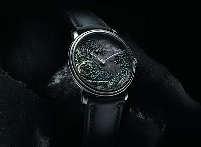 Blancpain Villeret Métiers d'Art The Great Wave Watch Replica