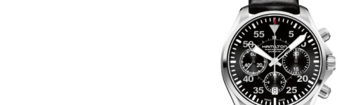 High-efficiency Fake Hamilton Khaki Aviation Pilot Automatic Chronograph Watch