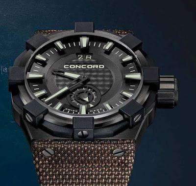 Concord C1 Big Date Radar watch replica