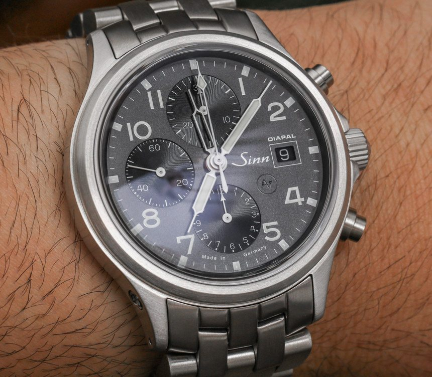 Sinn 358 DIAPAL Watch Hands-On Hands-On