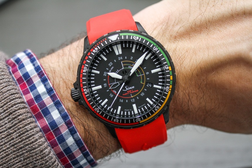 Sinn EZM 7 S Limited Edition Watch Hands-On Hands-On