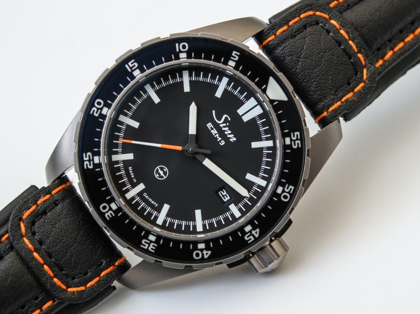 Sinn EZM 9 TESTAF Watch Hands-On Hands-On
