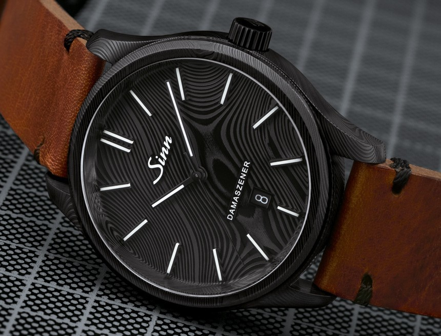 Sinn Model 1800 S Damaszener 100-Piece Limited Edition Watch In Damascus Steel Watch Releases